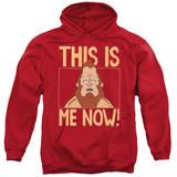 Bob's Burgers This Is Me Adult Pullover Hoodie Sweatshirt Red