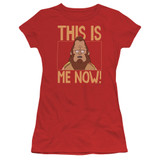Bob's Burgers This Is Me Junior Women's T-Shirt Red