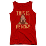 Bob's Burgers This Is Me Junior Women's Tank Top T-Shirt Red