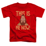 Bob's Burgers This Is Me Toddler T-Shirt Red