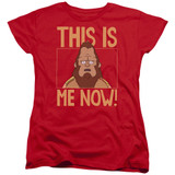 Bob's Burgers This Is Me Women's T-Shirt Red