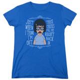 Bob's Burgers Pull Me In Women's T-Shirt Royal Blue