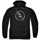The Flash Zoom Logo Adult Pullover Hoodie Sweatshirt Black