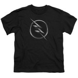 The Flash Zoom Logo Youth T-Shirt Black