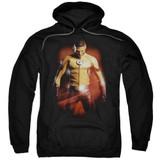 The Flash Kid The Flash Adult Pullover Hoodie Sweatshirt Black