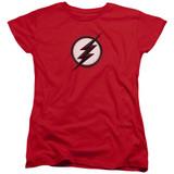 The Flash Jesse Quick Logo Women's T-Shirt Red