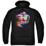 The Flash Fastest Man Adult Pullover Hoodie Sweatshirt Black