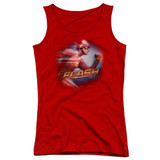 The Flash Fastest Man Junior Women's Tank Top T-Shirt Red