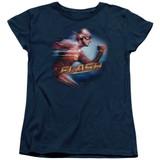 The Flash Fastest Man Women's T-Shirt Navy