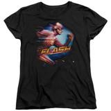 The Flash Fastest Man Women's T-Shirt Black