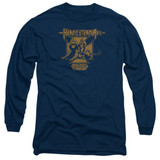 Masters Of The Universe Hero Of Eternia Adult Long Sleeve T-Shirt Navy