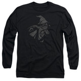 Masters Of The Universe Orko Clout Adult Long Sleeve T-Shirt Black
