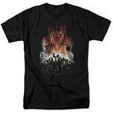 Lord of the Rings Evil Rising Adult 18/1 T-Shirt Black