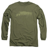Lord of the Rings The Fellowship Adult Long Sleeve T-Shirt Military Green