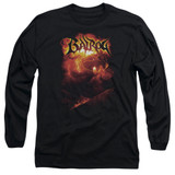Lord of the Rings Balrog Adult Long Sleeve T-Shirt Black