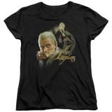 Lord of the Rings Legolas Women's T-Shirt Black