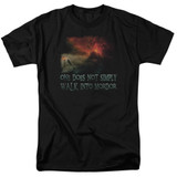 Lord of the Rings Walk In Mordor Adult 18/1 T-Shirt Black