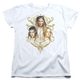 Lord of the Rings Women Of Middle Earth Women's T-Shirt White