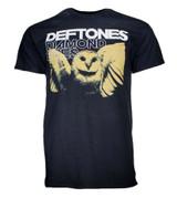 Deftones Sepia Owl Adult T-Shirt