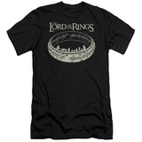 Lord Of The Rings The Journey Adult 30/1 T-Shirt Black