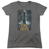 Lord Of The Rings Always Watching Women's T-Shirt Charcoal