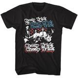 Cheap Trick Rwb Black Adult T-Shirt