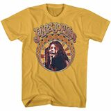 Janis Joplin Nouveau Circle Ginger Adult T-Shirt