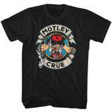 Motley Crue Motleycrue Black Adult T-Shirt
