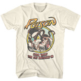 Poison LWTCDI Natural Adult T-Shirt