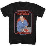 Silence Of The Lambs Friend For Dinner Classic Black Adult T-Shirt