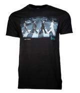 Beatles Abbey Stride Black Classic T-Shirt