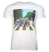 Beatles Abbey Road Walk White Classic T-Shirt