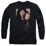 Lord of the Rings Arwen Adult Long Sleeve T-Shirt Black