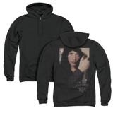 Lord of the Rings Arwen (Back Print) Adult Zipper Hoodie Sweatshirt Black