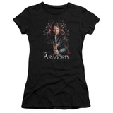 Lord of the Rings Aragorn Junior Women's T-Shirt Black