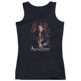 Lord of the Rings Aragorn Juniors Tank Top Black