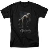 Lord of the Rings Gollum Adult T-Shirt Black