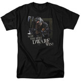 Lord of the Rings The Best Dwarf Adult T-Shirt Black