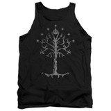 Lord of the Rings Tree Of Gondor Adult Tank Top T-Shirt Black