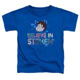Steven Universe Believe Toddler T-Shirt Royal Blue