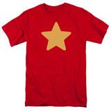 Steven Universe Star Adult T-Shirt Red