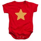 Steven Universe Star Baby Onesie T-Shirt Red