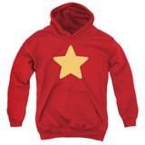 Steven Universe Star Youth Pullover Hoodie Sweatshirt Red
