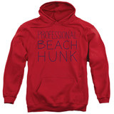 Steven Universe Beach Hunk Adult Pullover Hoodie Sweatshirt Red