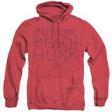 Steven Universe Beach Hunk Adult Heather Hoodie Sweatshirt Red