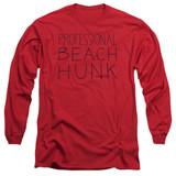 Steven Universe Beach Hunk Adult Long Sleeve T-Shirt Red