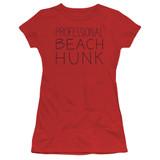 Steven Universe Beach Hunk Junior Women's T-Shirt Red