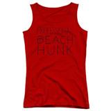 Steven Universe Beach Hunk Junior Women's Tank Top T-Shirt Red