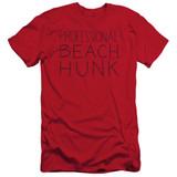 Steven Universe Beach Hunk Adult 30/1 T-Shirt Red