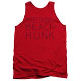 Steven Universe Beach Hunk Adult Tank Top T-Shirt Red